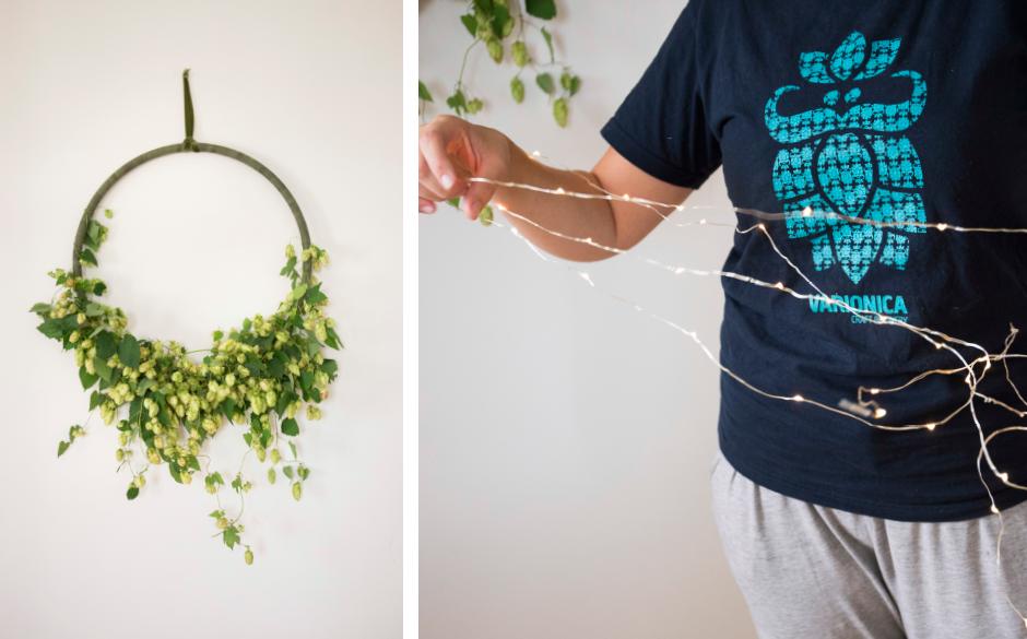Varionica craft brewery DIY hop hoop