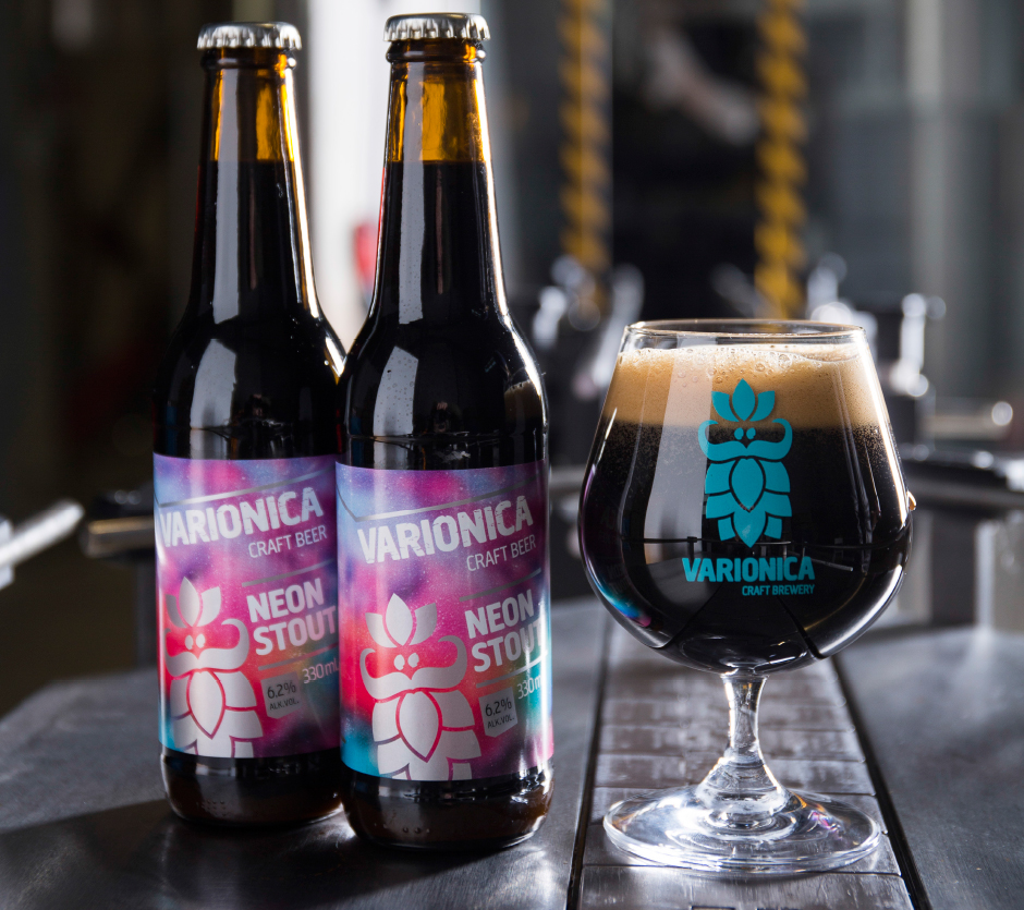 neon stout varionica varionica pivo varionica craft beer varionica craft brewery pivo beer croatian beer stout