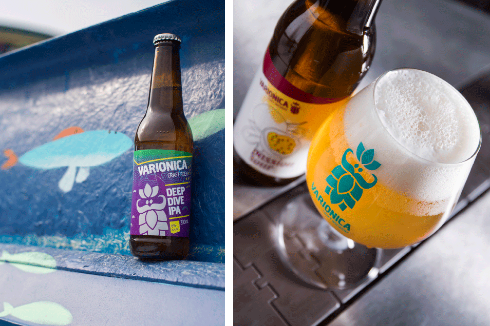 varionica varionica craft brewery hrvatska craft pivovara craft pivo pivo deep dive ipa more osvježenje passion sour kiselo osvježavajuće marakuja